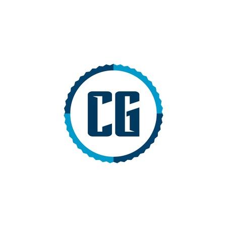 Initial Letter Logo CG Template Vector Design Logo