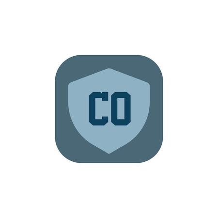 Initial Letter Logo CO Template Vector Design Logo