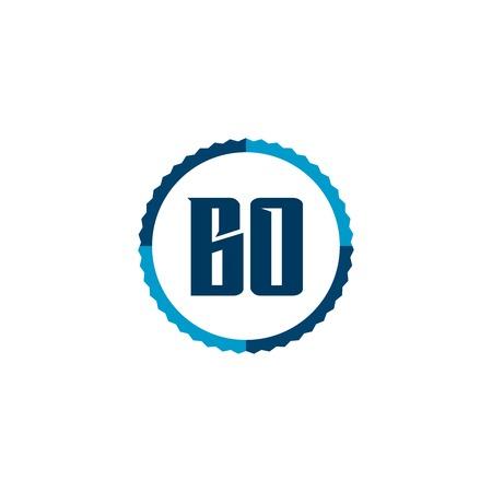 Initial Letter Logo BO Template Vector Design