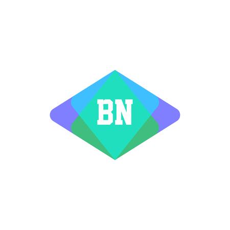 Initial Letter Logo BN Template Design Logó