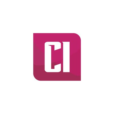 Initial Letter Logo CI Template Vector Design