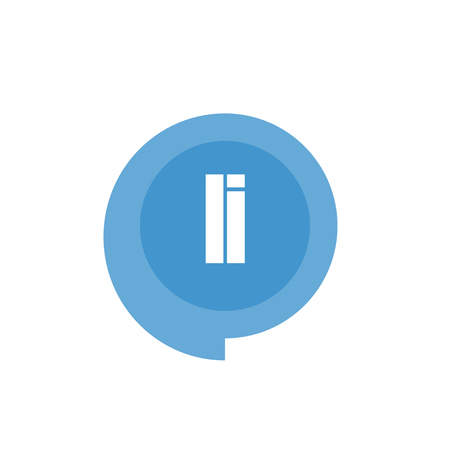 Initial Letter Logo LI Template Vector Design