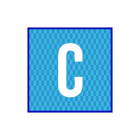 Initial Letter C Logo Template Vector Design Illustration