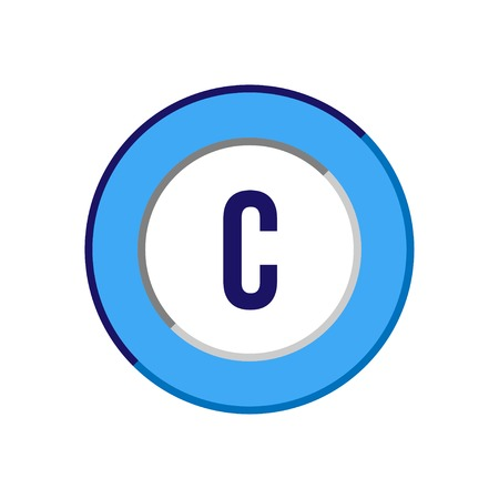 Initial Letter C Logo Template Vector Design Logo