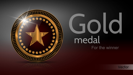 Gold Medal Winner - Vector