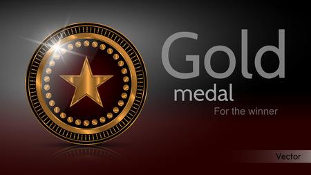 Gold Medal Winner - Vector
