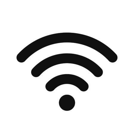 Wifi vector icon, sign, symbol.