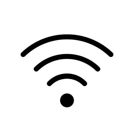 Wifi icon. Wifi symbol for use in interface design.