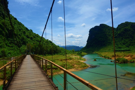 Landscape of Phong Nha. 版權商用圖片