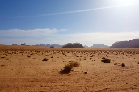 Jordanian desert called Wadi Rum.