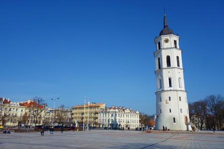 Gedimino Allee im Stadtzentrum von Vilnius