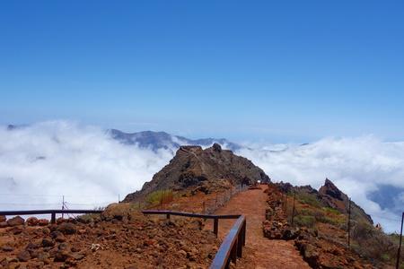Roque de los Muchachos Observatory in La Palma island, Canarias