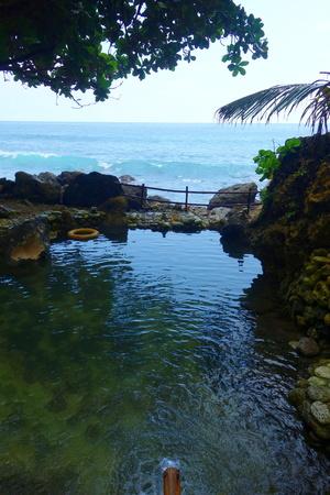 Temeling Hot Springs - Secret bath stop in Nusa Penida near to Bali