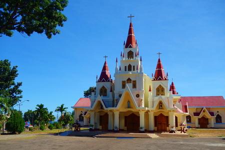 Gereja Katedral located Larantuka, East Flores, Nusa Tenggara Timur, Indonesia, South-East Asia