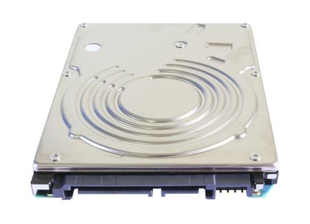 megabyte: Hard disk drive isolated on white background.