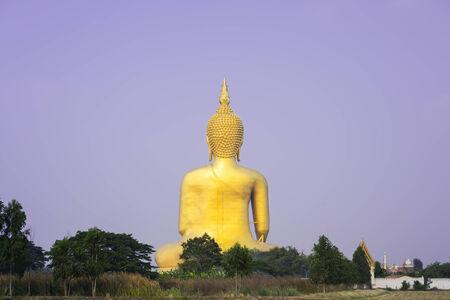 budha: Big buddha in Wat Muang, Ang Thong, Thailand