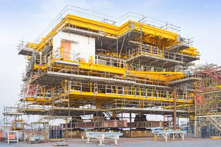 Platform petroleum fabrication  photo