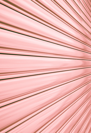 Perspective of rolling door or shutter door pattern,   new and clean surface   photo