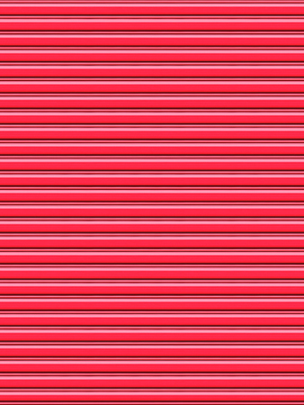 Rolling door or shutter door pattern red color (new and clean surface). photo
