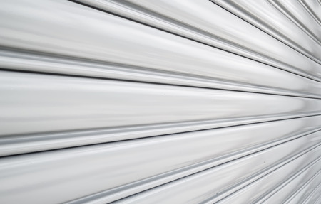 Perspective of rolling door or shutter door pattern,  (new and clean surface).