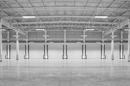 commercial construction: Empty factory