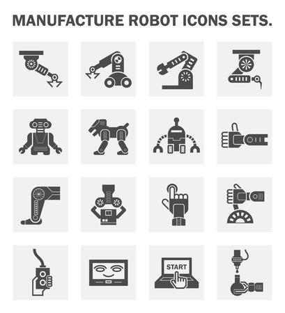 robot: Robot conjuntos de iconos.
