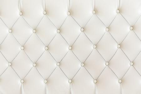 白い背景のパターンをクッションします。