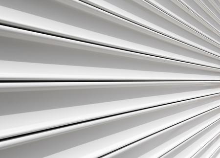 Perspective of rolling door or shutter door pattern.