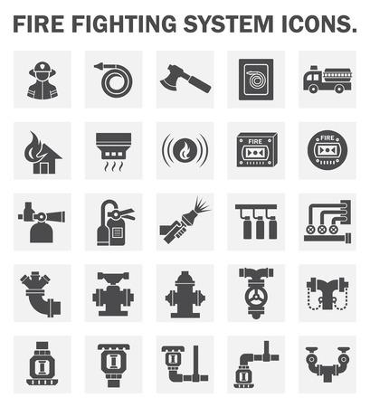消防システム アイコンを設定します。