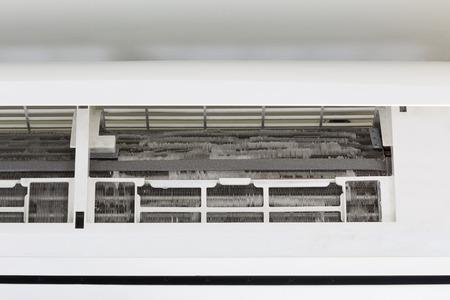 spirale: Kühlschlange der Klimaanlage Maschine.
