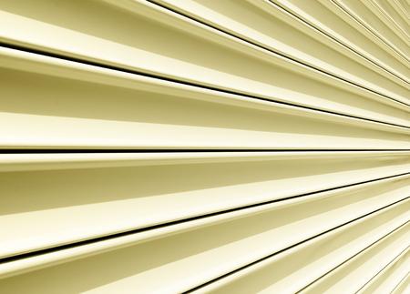 shutter door: Perspective of rolling door or shutter door pattern.