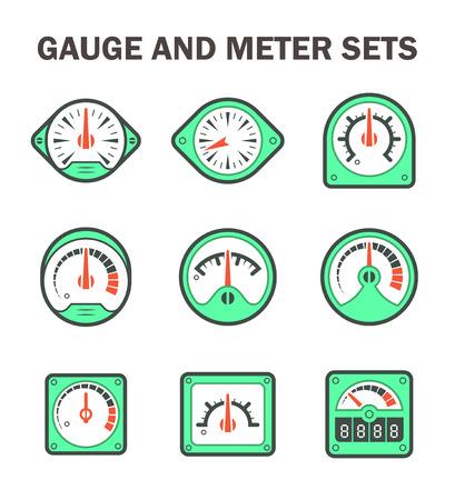 rpm: gauge or meter sets. Illustration