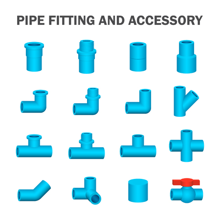 sanitary engineering: pipe fitting and accessory.