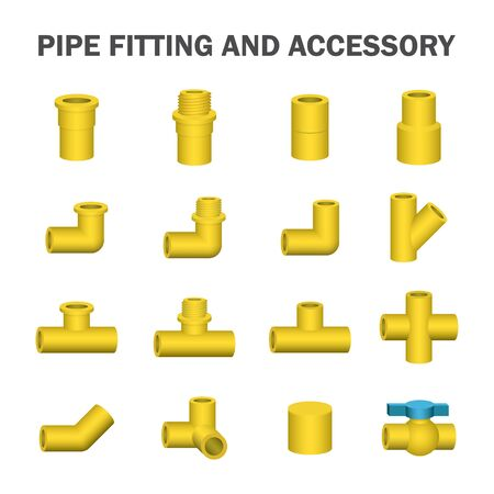 accessory: pipe fitting and accessory.