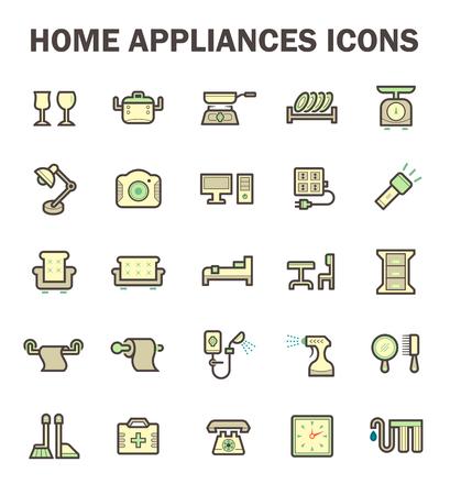 Home Appliance Vektor-Symbol.