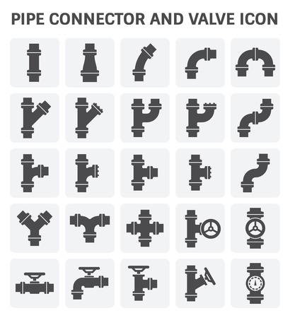 Rohrverbinder oder Rohrfittings und Meter für Sanitär- und Rohrleitungsarbeiten.