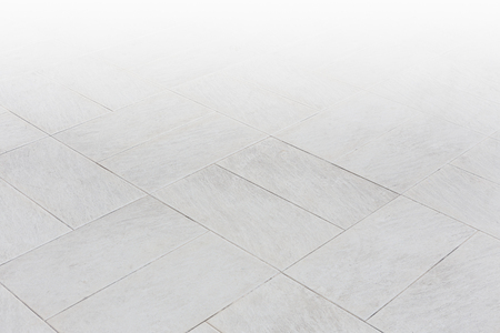 Stone pattern on tile floor with geometric line for background. 스톡 콘텐츠