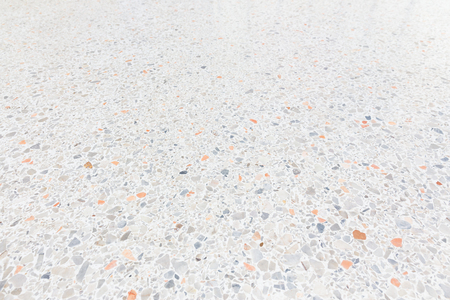 White Texture And Surface Of Terrazzo Floor For Background Photo