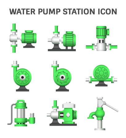 Electric water pump and agriculture equipment for water distribution.