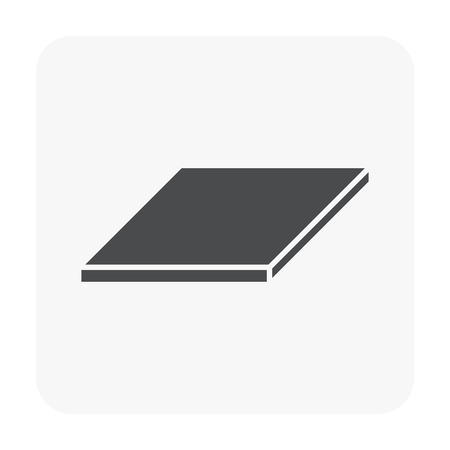 Metal product icon on white background Иллюстрация