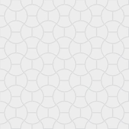Paver brick floor seamless pattern element. Stock Illustratie