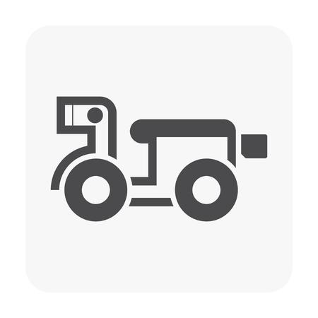 Motocycle icon on white.