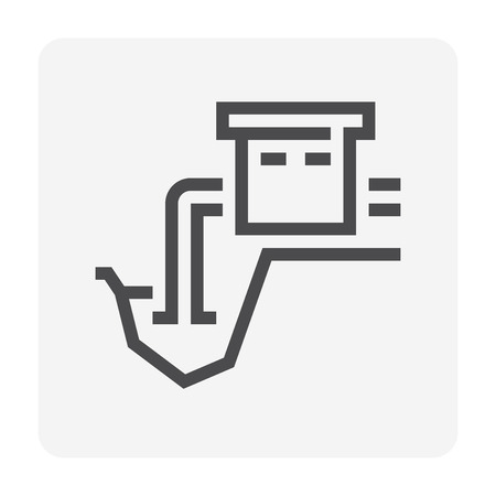 Water resource icon, 48x48 pixel perfect and editable stroke.