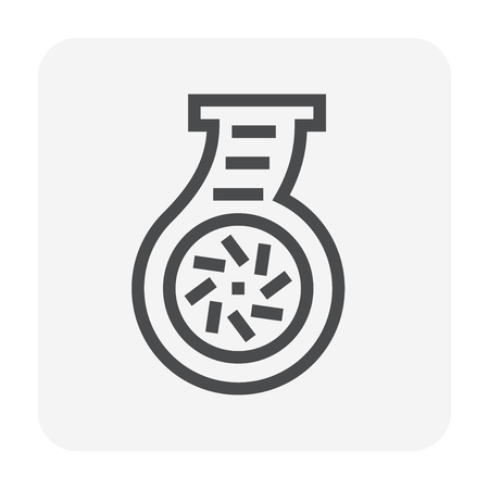 Water pump icon, 48x48 pixel perfect and editable stroke. Vektorové ilustrace