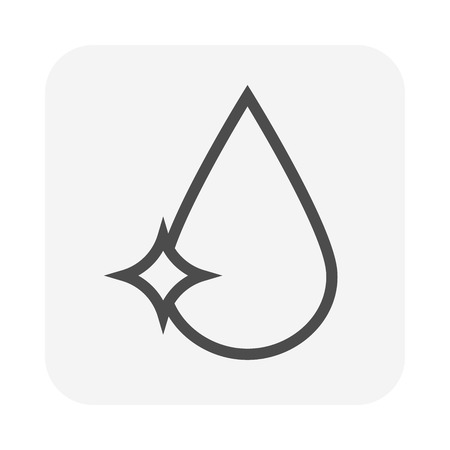 Waste water icon, 64x64 perfect pixel and editable stroke.