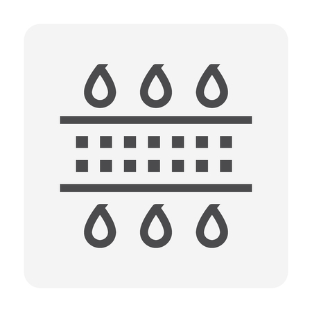 Water treatment and water filter icon, 48x48 pixel perfect and editable stroke. Imagens