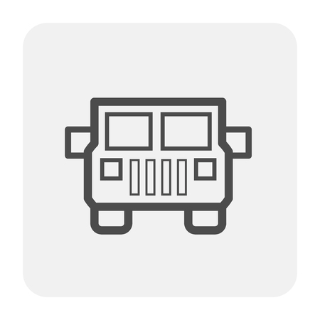 Off road icon, black and outline. Banco de Imagens - 108889761