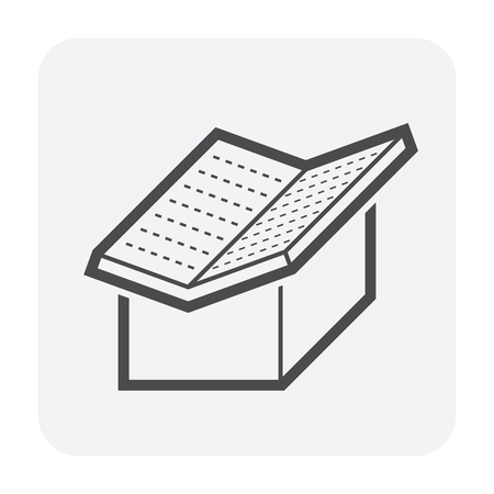 Roof shape and house vector icon design.