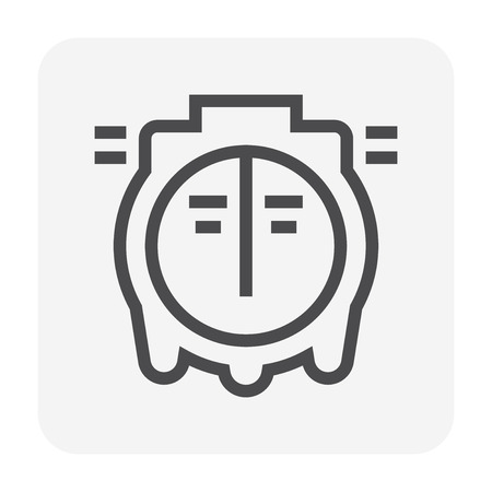 Septic tank icon, 48x48 pixel perfect and editable stroke.