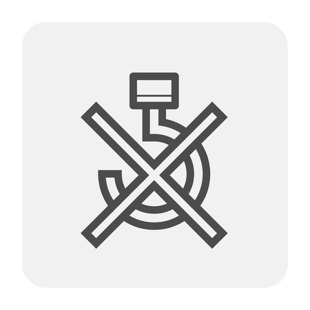 Packaging symbol design for cargo box.